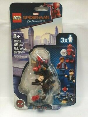 LEGO 40343 Marvel Spider-Man Far From Home Minifigure Pack 49pcs New in hand