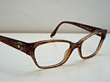 e08d2e0171d Authentic VERSACE VE3172 991 Lizard Brown Eyeglasses DEMO Frame MSRP  220