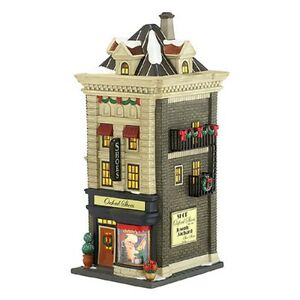 Dept-56-Christmas-In-The-City-034-OXFORD-SHOES-034-MIB-New-For-2013
