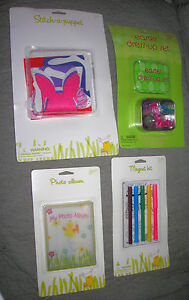 EASTER LOT of GAMES CRAFTS TOYS   FILL the EASTER BASKETS  with these items  NEW