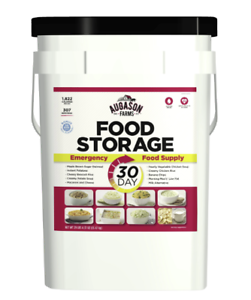 Augason Farms 30 Day Emergency Food Storage Supply 8.5 Gallon Pail Camping Goods