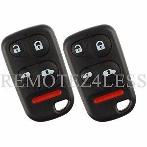 how to open honda car key