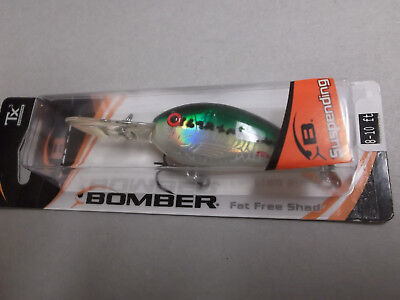 Bomber Excalibur Suspend Fat Free Shad,Fingerling,BSD5F,Citrus Shad