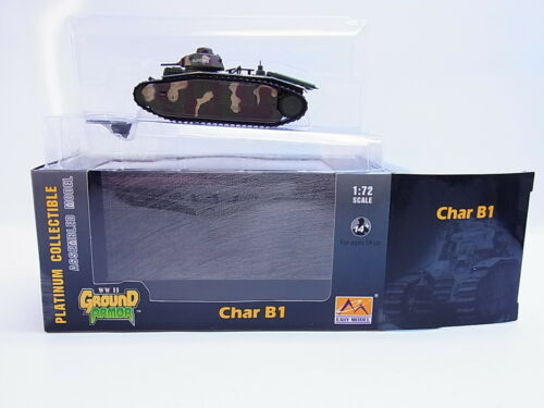 60323Ground Armor 36160 Char B1 Fertigmodell 1:72 NEU in OVP
