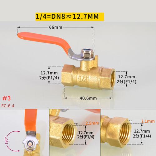 Kugelhahn Wasserhahn Absperrhahn Schrägsitzventil Absperrventil ventil DN8-DN20