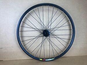 Mavic X 317 Front Wheel 26 Inch Disc Wheel Mtb Mountain Bike Formula Hub Thru Ebay