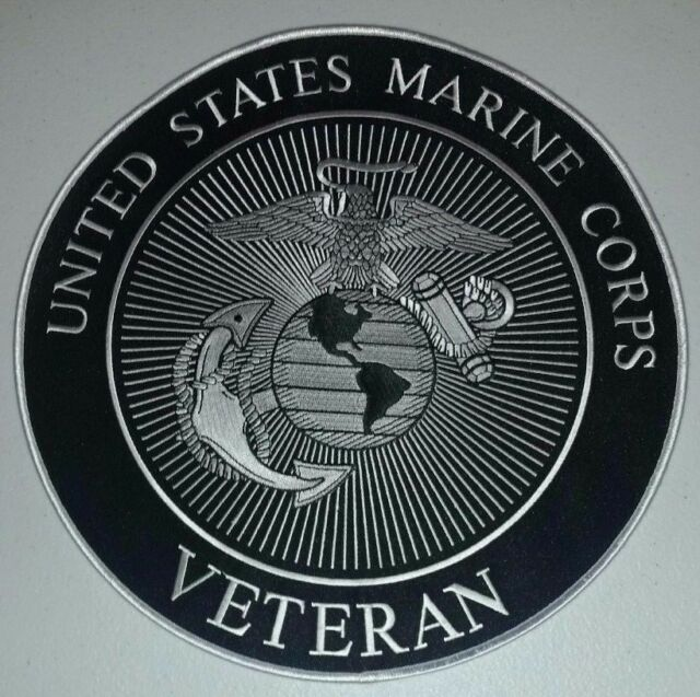 OORAH MILITARY MARINE CORPS EMBROIDERED IRON ON MOTORCYCLE BIKER PATCH L-16