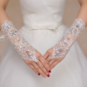 1-Pair-White-Lace-Bridal-Wedding-Dress-Gloves-Elegant-Wedding-Accessories