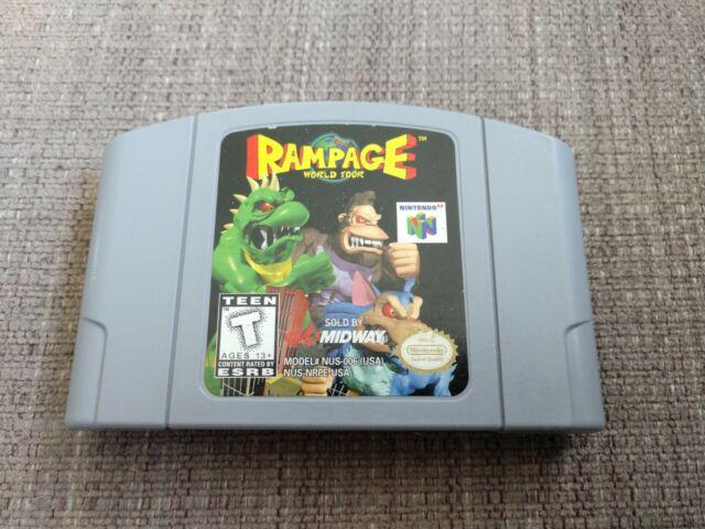 Rampage World Tour (Nintendo 64, 1997)