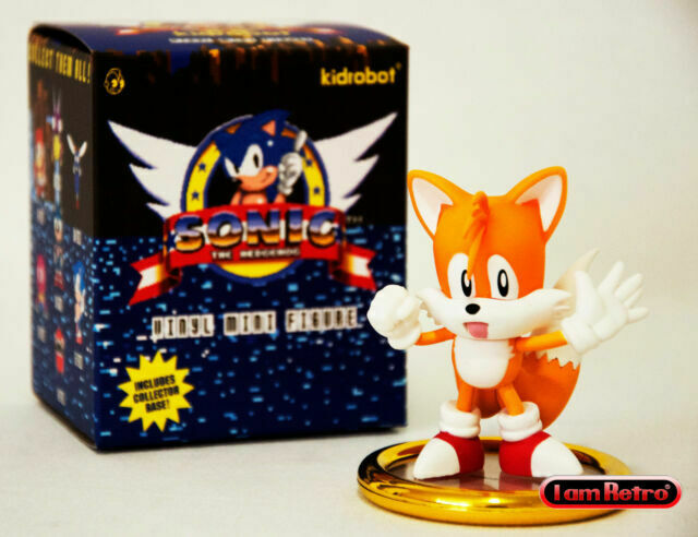 Tails Standing Sonic The Hedgehog Sega Genesis Vinyl Figure Made By Kidrobot For Sale Online Ebay