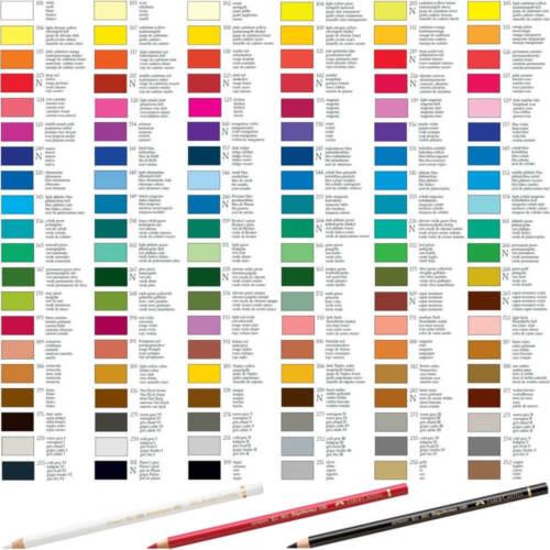 120 Farben einzeln wählbar Faber Castell Polychromos Künstler Farbstift