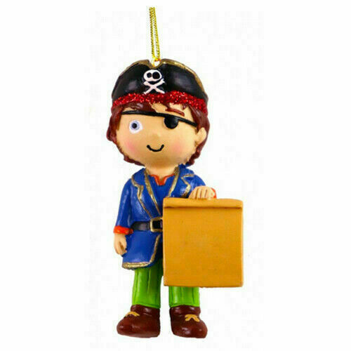 Pirate Personalised Decoration by Suki Gifts