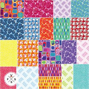 Christa-Watson-Abstract-Garden-Precut-10-034-Fabric-Squares-Layer-Benartex-B01