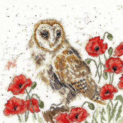 Bothy Threads ~ Counted Cross Stitch Kit ~ The Lookout ~ Owl ~ XHD7