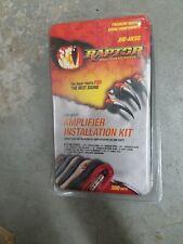 1500 Watt Amplifier Installation Kit by Raptor Aw-ak150 for