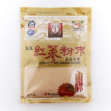 300g(10.6oz),100% Korean Red Ginseng 6 Years Roots Powder, No Additives, Saponin