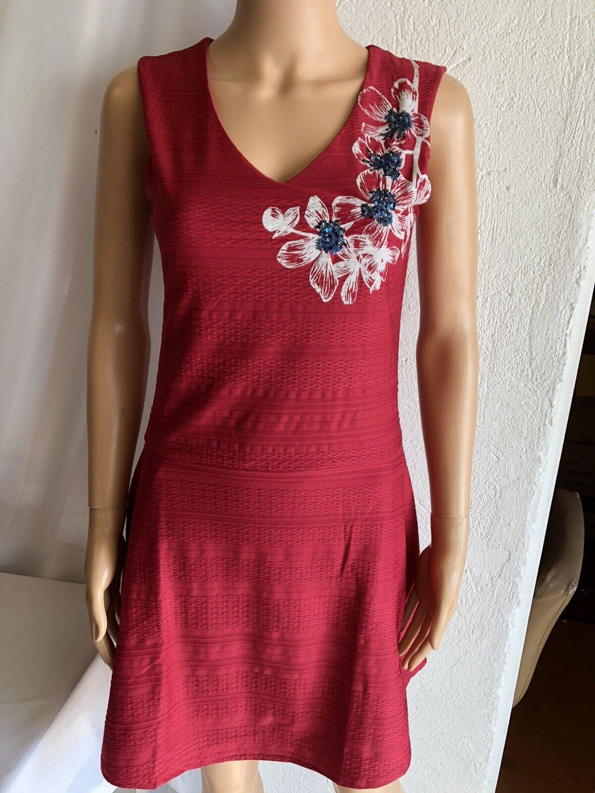 Kleid Frau Desigual Ref 18WWVKY1 Rosa Farbe Neu