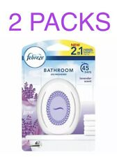 3 Febreze Bathroom 2 In 1 Lavender Scent Air Freshener Small Spaces Office Home For Sale Online Ebay