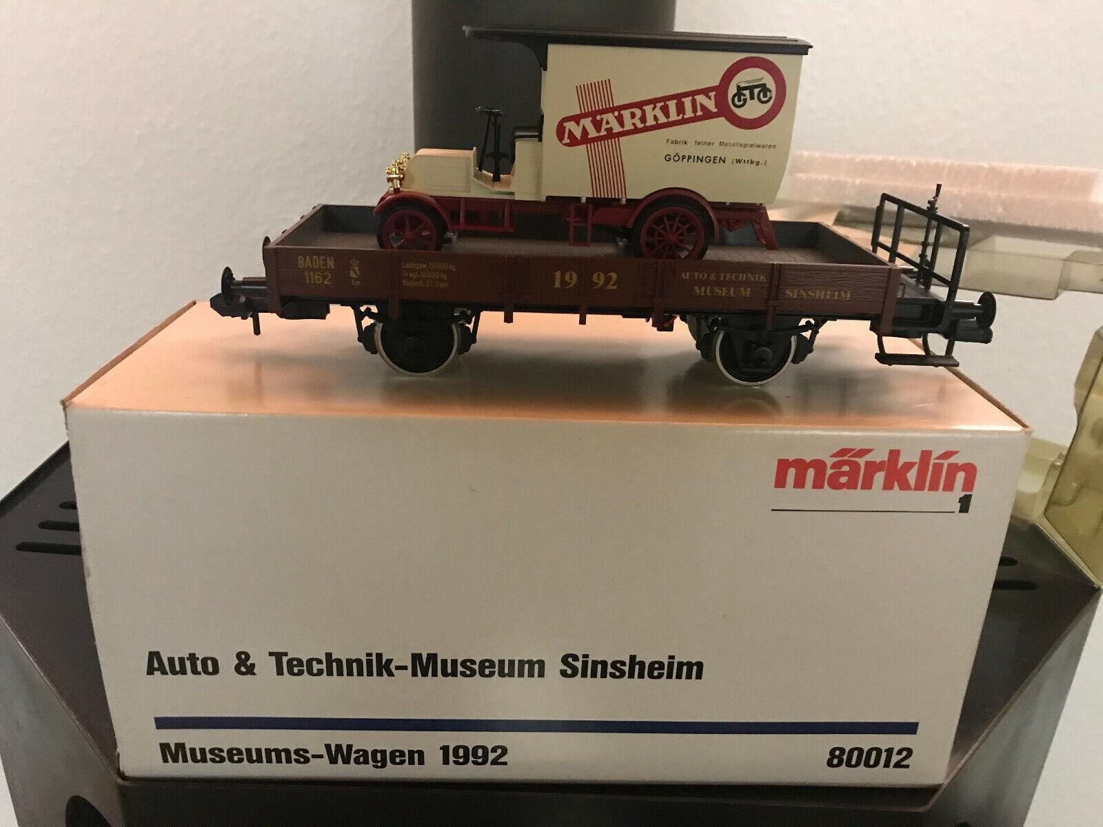 marklin 80012 MUSEO AUTO 1992 traccia i Museum Sinsheim NUOVO  OVP
