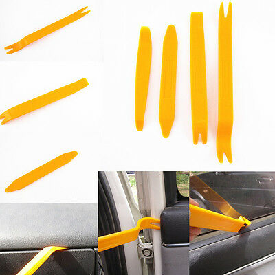 4 x Interior Panel Door Handle Lights Molding Trim Removal Install Tool For Ford