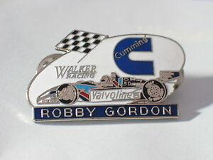 Robby Gordon Walker Racing Pin Cummins Valvoline Badge