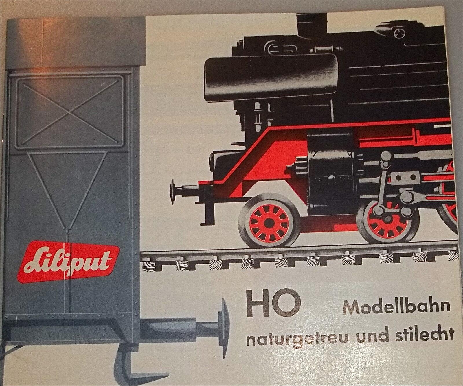 1963 63 Liliput Katalog Å