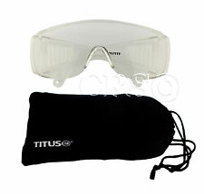 Goggles Shooting Range Eye Protection Fit Over RX Glasses OTG Motorcycle Safety