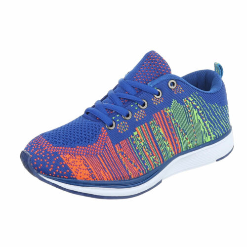Sneaker Slipper Freizeitschuhe Sneakers Low Damenschuhe 6548 Ital-design