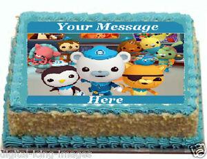 Octonauts Cake topper edible image icing REAL FONDANT eBay