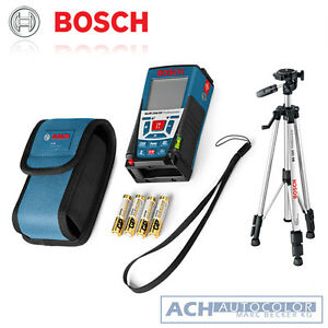 bosch glm 250 vf laser entfernungsmesser tasche bs 150 stativ 061599402j ebay. Black Bedroom Furniture Sets. Home Design Ideas