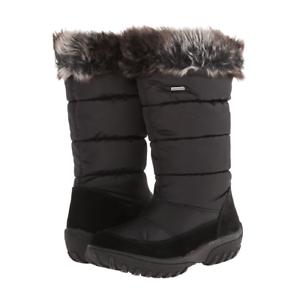 ventas en linea Spring Step desaparecer desaparecer desaparecer Negro Invierno botas de nieve para mujer talla  US 10.5-11  autentico en linea