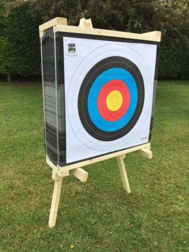 Egertec 90cm Layered Foam Target /& Stand Package IN STOCK FREE DELIVERY