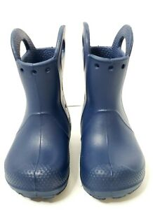 Stiefel Crocs Kinder Handle It Rain Boot (Cerulean Blue)