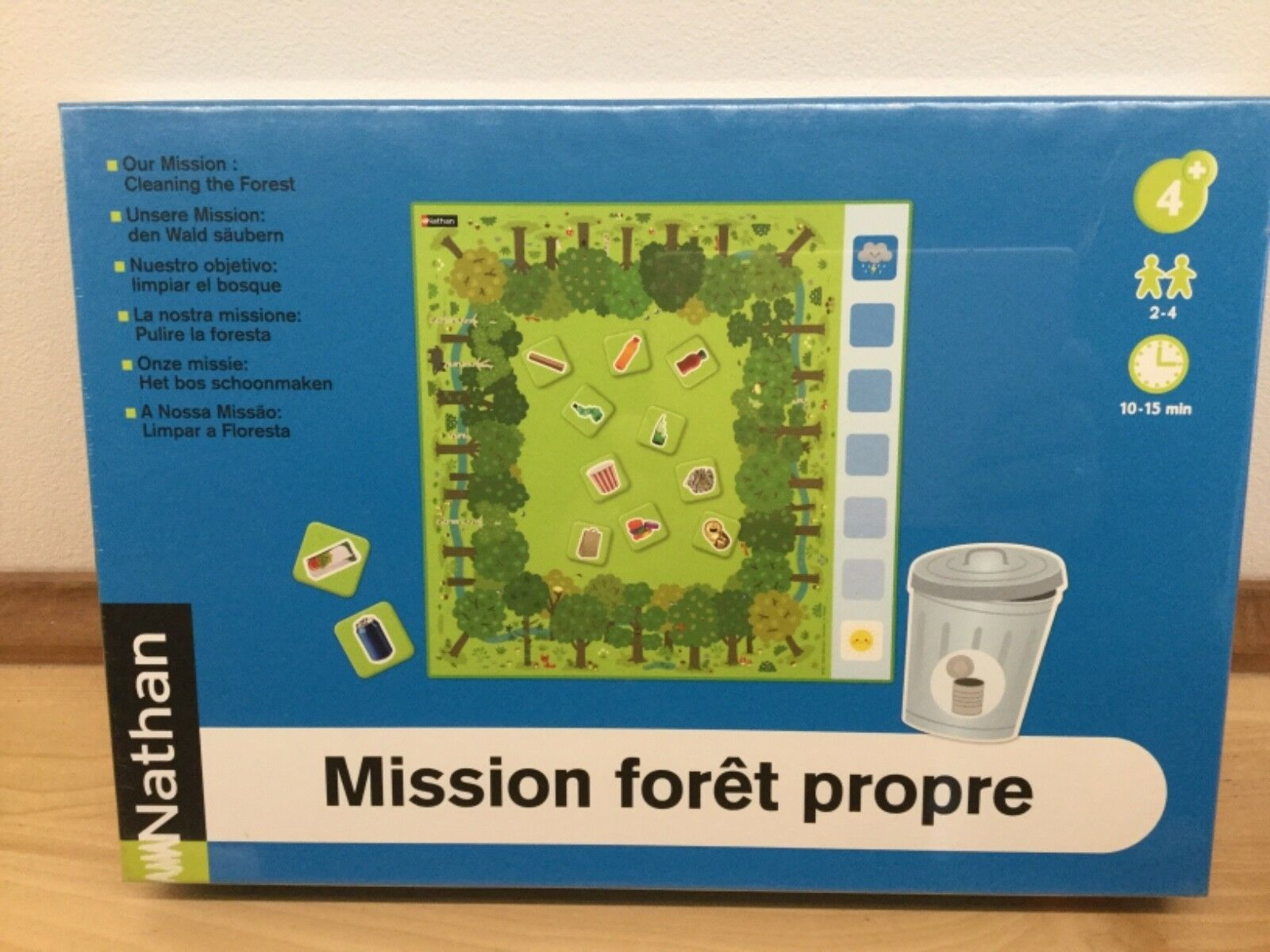 Nathan Our Mission  Cleaning the Forest Game Board NEW & Sealed