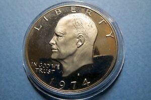 1974-S-034-S-PROOF-034-ISSUE-U-S-1974S-EISENHOWER-LARGE-DOLLAR-S-PROOF-Uncirculated