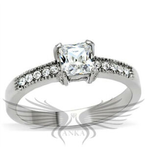 ROUND SOLITAIRE ENGAGEMENT RUSSIAN LAB CREATED SIM DIAMOND WEDDING RING TK1410
