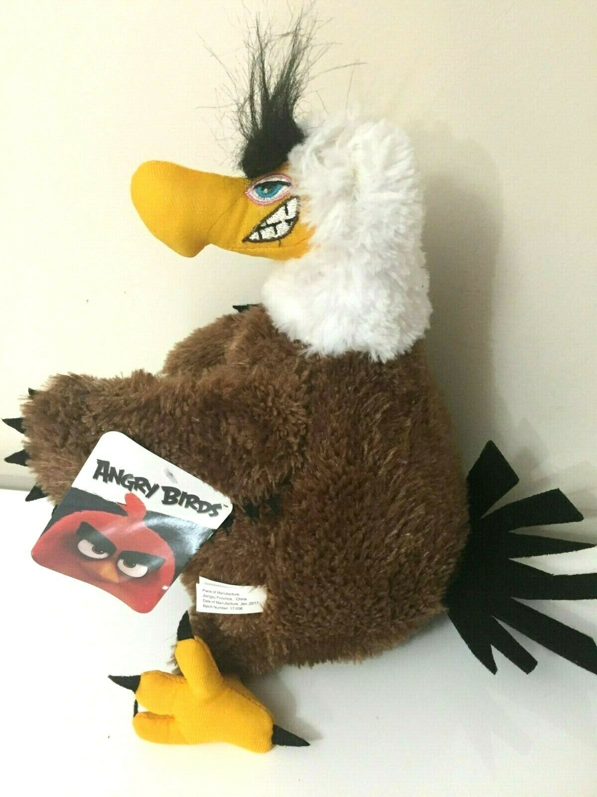LARGE 12  MIGHTY EAGLE ANGRY BIRDS  PLUSH TOY TOY TOY DOLL . LICENSED. NWT. 8848d5