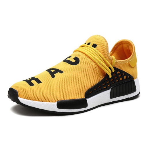 Homme New plate Casual Gym Course Baskets Respirant Maille Sport Slip On zsell