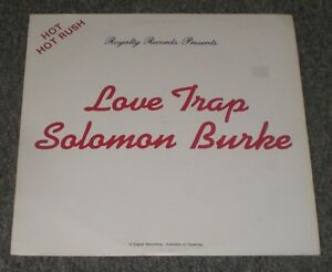 Love-Trap-Solomon-Burke-RARE-Private-1986-Soul-Funk-FAST-SHIPPING