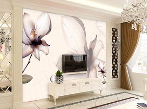 3D Sketch Lotus 25 Wall Paper Wall Print Decal Wall AJ WALLPAPER CA