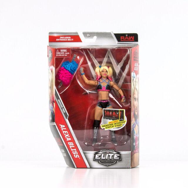 WWE alexa. felicidad RAW Mujeres NXT Elite Series 53 Mattel