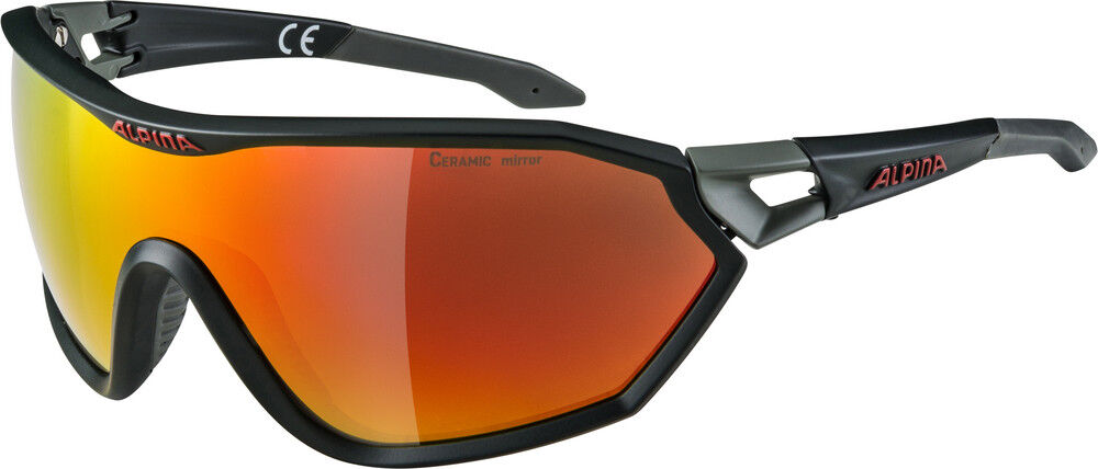 Alpina S-WAY - L CM+ Sportbrille - S-WAY seamoss Grün f4d073