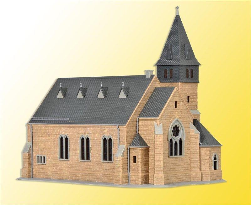 tienda hace compras y ventas Kibri H0 39766 - Kirche aus dem dem dem Westerwald mit Mauer     Bausatz  Neuware  respuestas rápidas