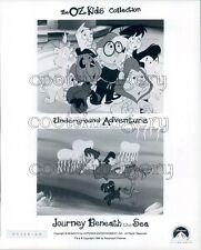 1996 Scene From Oz Kids Animated TV Hyperion Press Photo