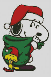 Snoopy And Woodstock Christmas.Details About Cross Stitch Chart Pattern Snoopy Woodstock Christmas Xmas Charlie Brown