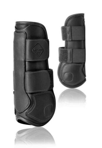 LeMieux CAPELLA Leather EVA Ergonomic TENDON SJ ShowJumping Boots Black//Brown