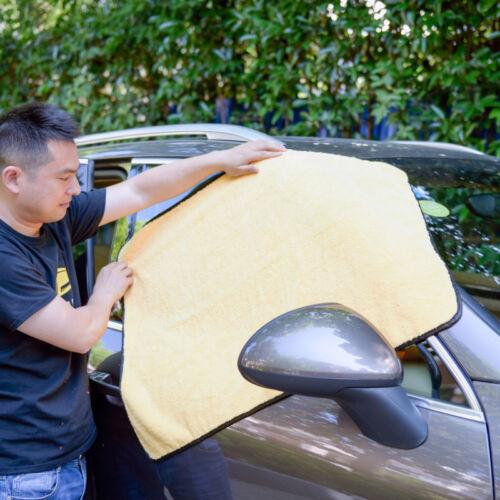 3X Large Microfiber Car Cleaning Towel Cloth Wash Washing Drying Cloths 92x64 cm
