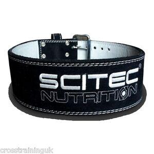 SCITEC-NUTRITION-034-SUPER-POWERLIFTER-034-RESISTENTE-CINTURoN-DE-CUERO