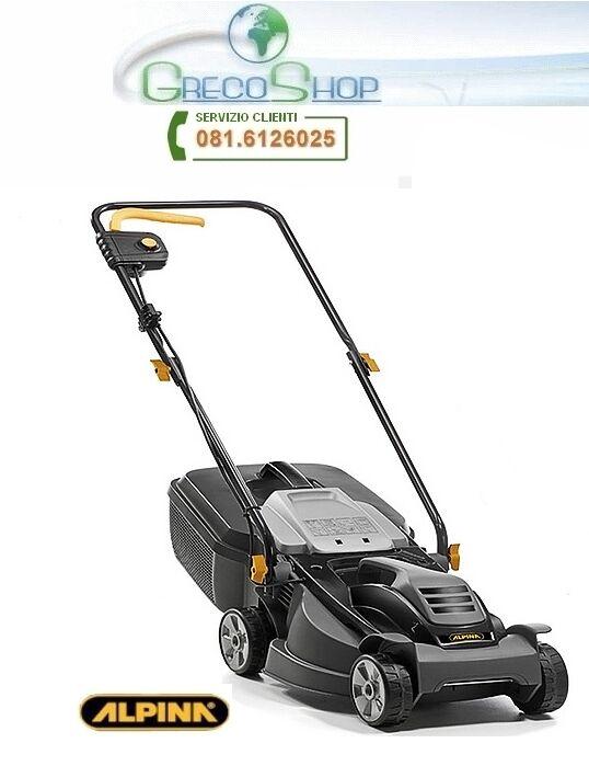 Rasaerba Tagliaerba elettrico 1000W Alpina - BL 320 E