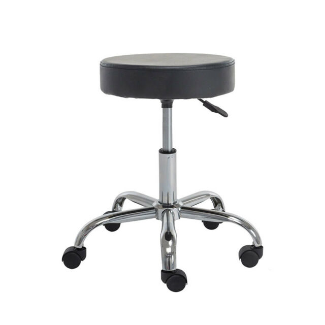 Pleasing Black Rolling Swivel Stool Chair For Adults With Hydraulic Lift No Back Ibusinesslaw Wood Chair Design Ideas Ibusinesslaworg